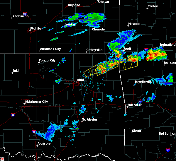 Radar Image for Severe Thunderstorms near Dodge, OK at 3/27/2020 4:00 PM CDT
