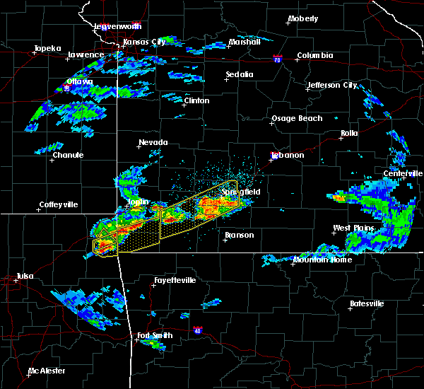 Radar Image for Severe Thunderstorms near Verona, MO at 3/27/2020 4:20 PM CDT