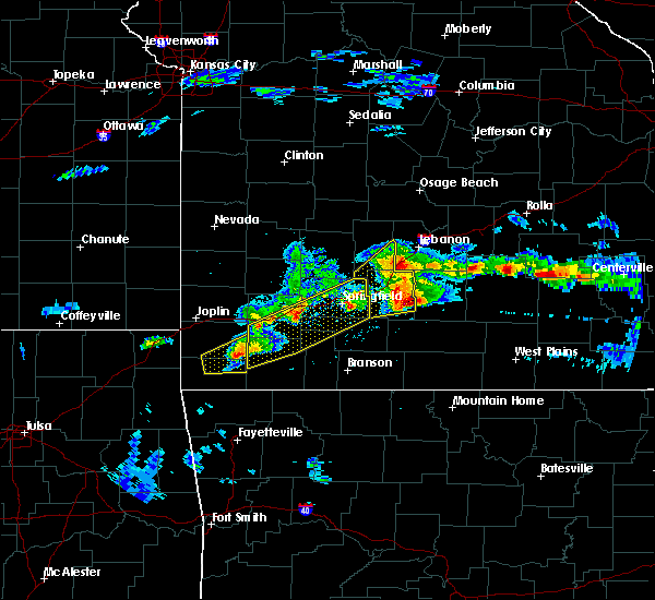 Radar Image for Severe Thunderstorms near Aurora, MO at 3/27/2020 5:00 PM CDT
