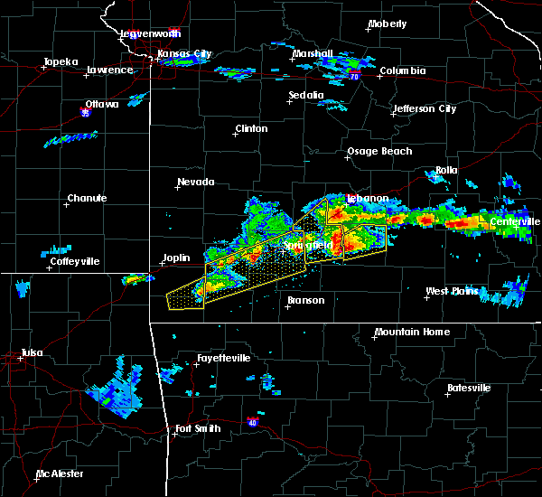 Radar Image for Severe Thunderstorms near Niangua, MO at 3/27/2020 5:06 PM CDT