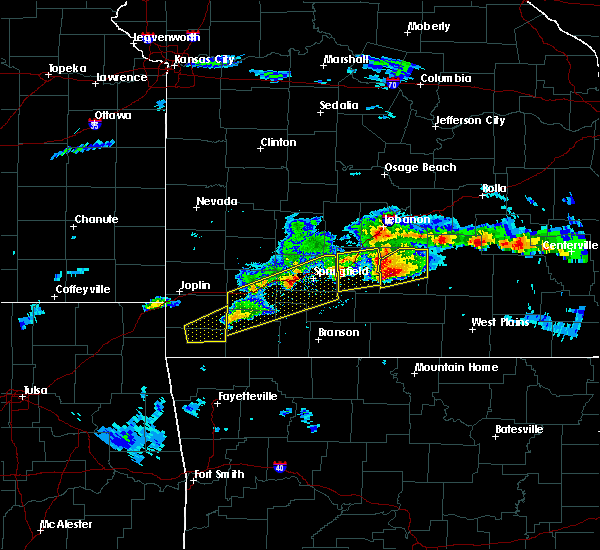 Radar Image for Severe Thunderstorms near Stella, MO at 3/27/2020 5:09 PM CDT