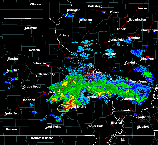 Radar Image for Severe Thunderstorms near Bunker, MO at 3/27/2020 6:50 PM CDT