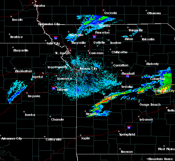Radar Image for Severe Thunderstorms near Tightwad, MO at 3/27/2020 9:06 PM CDT