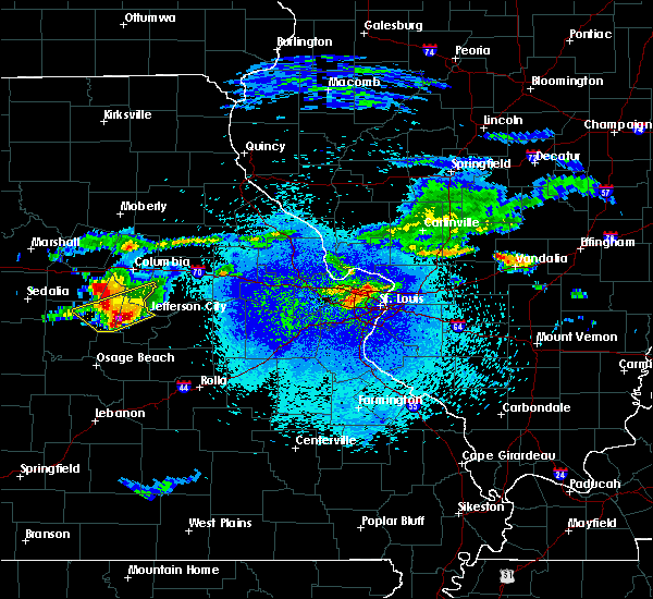 Radar Image for Severe Thunderstorms near St. Martins, MO at 3/27/2020 10:19 PM CDT