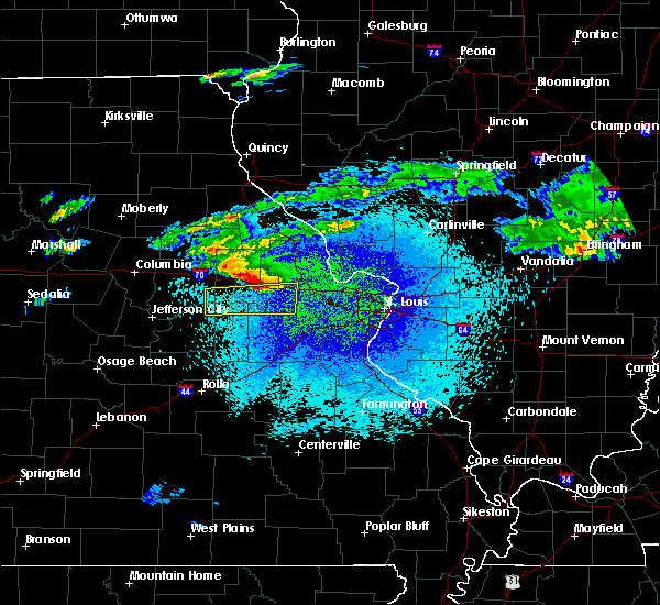 Radar Image for Severe Thunderstorms near Troy, MO at 3/27/2020 11:24 PM CDT