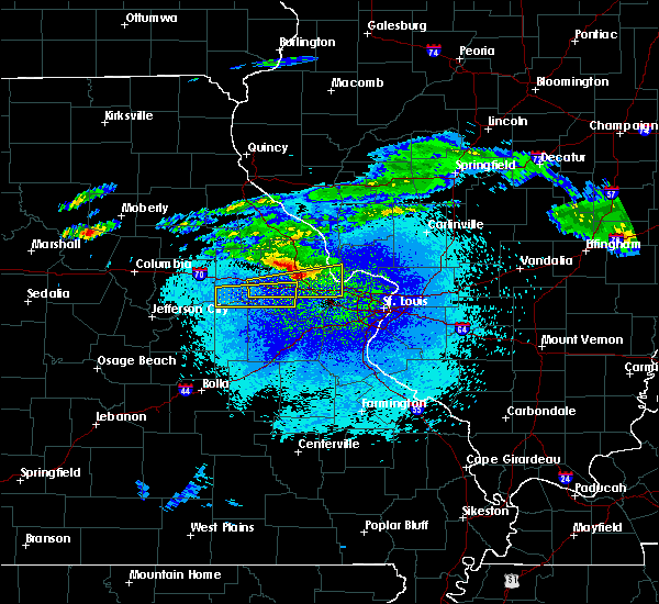 Radar Image for Severe Thunderstorms near Troy, MO at 3/27/2020 11:43 PM CDT