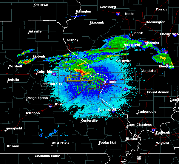 Radar Image for Severe Thunderstorms near Troy, MO at 3/27/2020 11:44 PM CDT