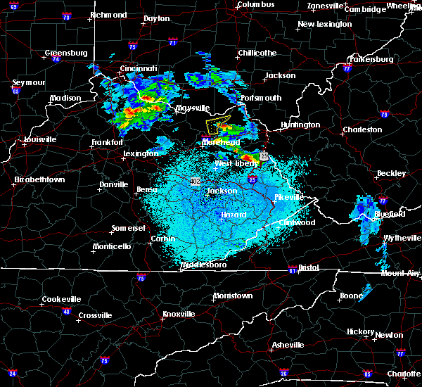 Radar Image for Severe Thunderstorms near Wurtland, KY at 3/28/2020 12:44 AM EDT