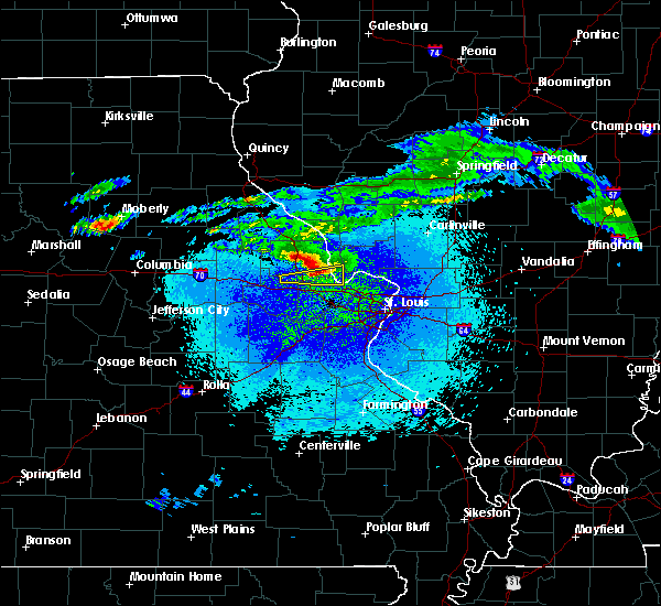 Radar Image for Severe Thunderstorms near Grafton, IL at 3/27/2020 11:48 PM CDT