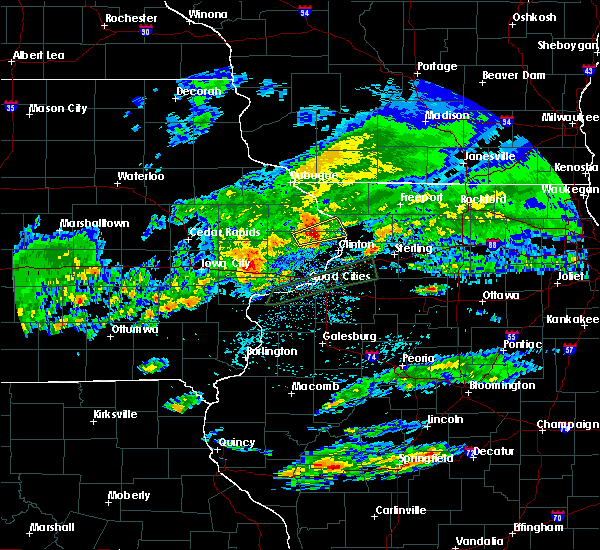 Radar Image for Severe Thunderstorms near Miles, IA at 3/28/2020 3:07 AM CDT