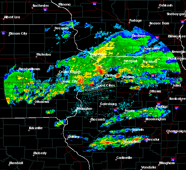 Radar Image for Severe Thunderstorms near Miles, IA at 3/28/2020 3:13 AM CDT