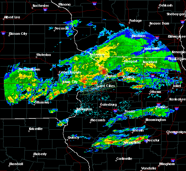 Radar Image for Severe Thunderstorms near Miles, IA at 3/28/2020 3:20 AM CDT