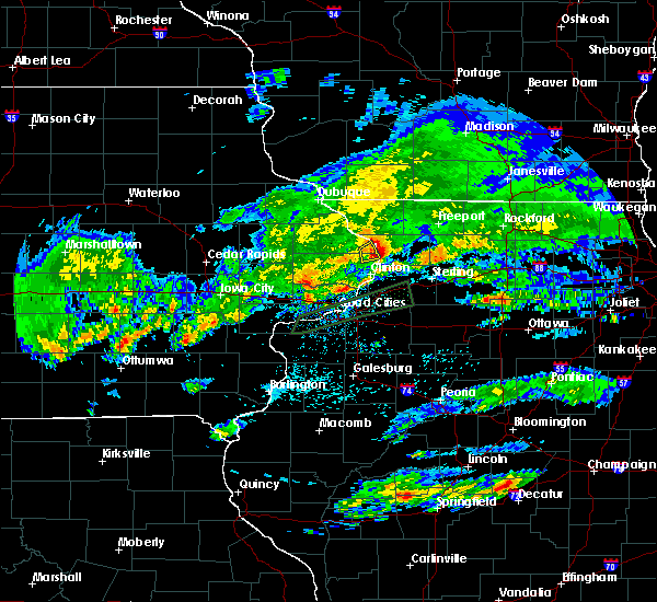 Radar Image for Severe Thunderstorms near Miles, IA at 3/28/2020 3:24 AM CDT