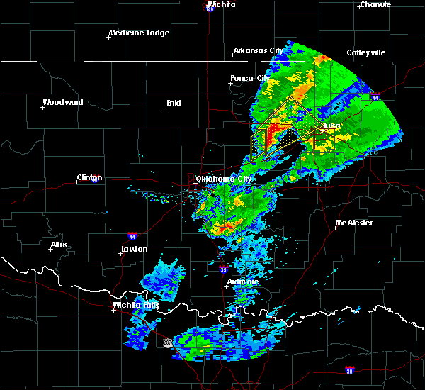 Radar Image for Severe Thunderstorms near Kendrick, OK at 3/28/2020 5:55 AM CDT