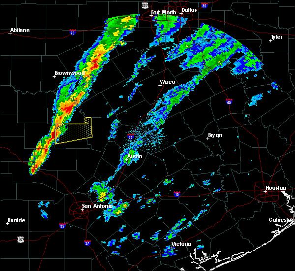 Radar Image for Severe Thunderstorms near Buchanan Dam, TX at 3/28/2020 7:16 AM CDT