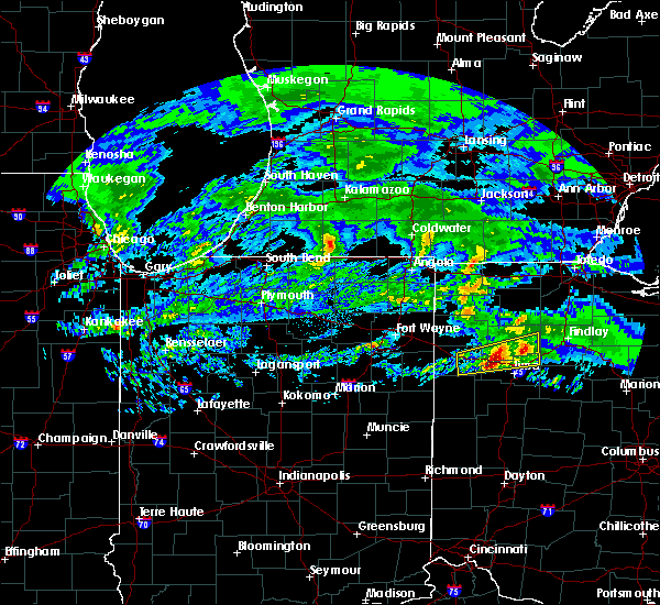 Radar Image for Severe Thunderstorms near Cairo, OH at 3/28/2020 9:06 AM EDT