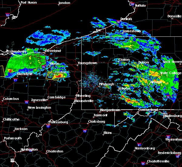 Radar Image for Severe Thunderstorms near Minerva, OH at 3/28/2020 9:56 AM EDT