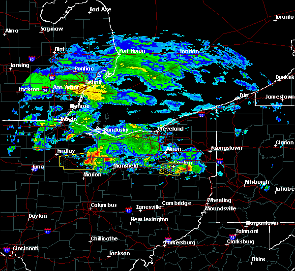 Radar Image for Severe Thunderstorms near Canton, OH at 3/28/2020 9:58 AM EDT