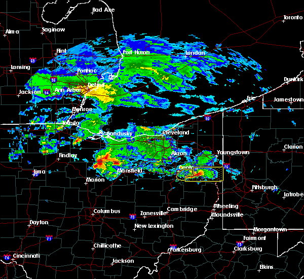 Radar Image for Severe Thunderstorms near East Sparta, OH at 3/28/2020 10:09 AM EDT