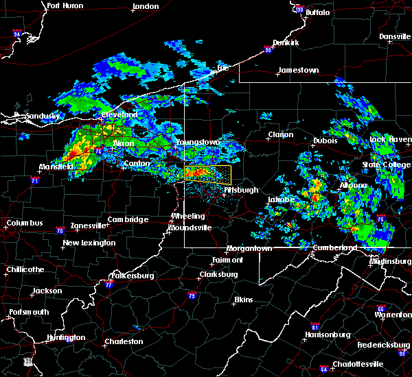 Radar Image for Severe Thunderstorms near Nixon, PA at 3/28/2020 10:42 AM EDT