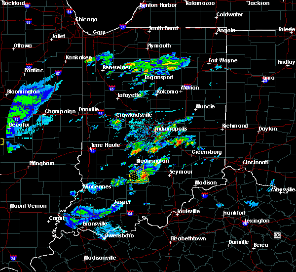 Radar Image for Severe Thunderstorms near Seymour, IN at 3/28/2020 12:18 PM EDT