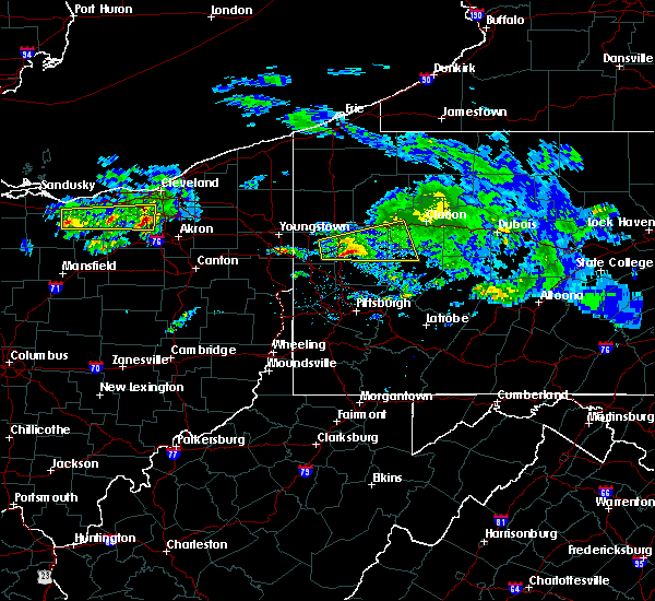 Radar Image for Severe Thunderstorms near Fairview, PA at 3/28/2020 12:18 PM EDT