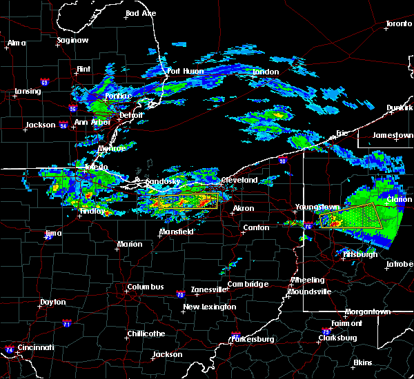 Radar Image for Severe Thunderstorms near Strongsville, OH at 3/28/2020 12:21 PM EDT