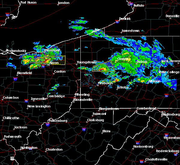 Radar Image for Severe Thunderstorms near Shanor-Northvue, PA at 3/28/2020 12:25 PM EDT