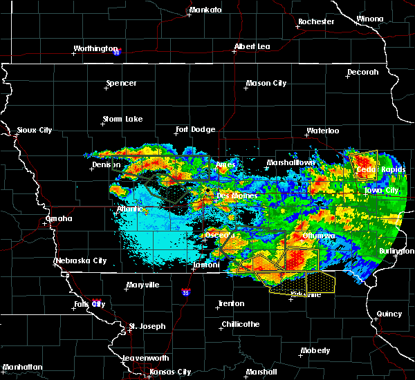 Radar Image for Severe Thunderstorms near Exline, IA at 6/24/2015 10:55 PM CDT
