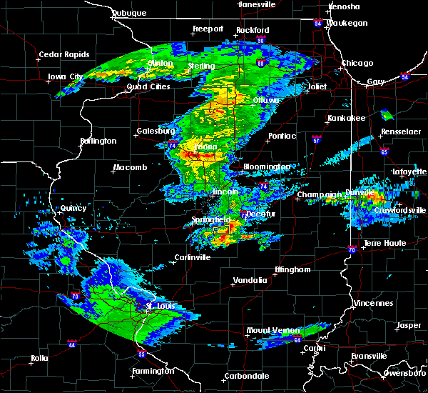 Radar Image for Severe Thunderstorms near Macon, IL at 3/28/2020 11:37 AM CDT
