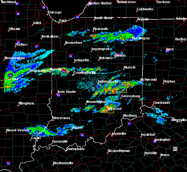 Radar Image for Severe Thunderstorms near Arlington, IN at 3/28/2020 12:48 PM EDT