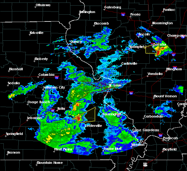 Radar Image for Severe Thunderstorms near Potosi, MO at 3/28/2020 12:06 PM CDT
