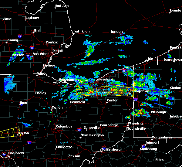 Radar Image for Severe Thunderstorms near South Canal, OH at 3/28/2020 1:13 PM EDT