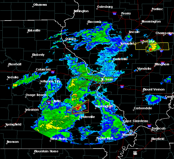 Radar Image for Severe Thunderstorms near Irondale, MO at 3/28/2020 12:18 PM CDT