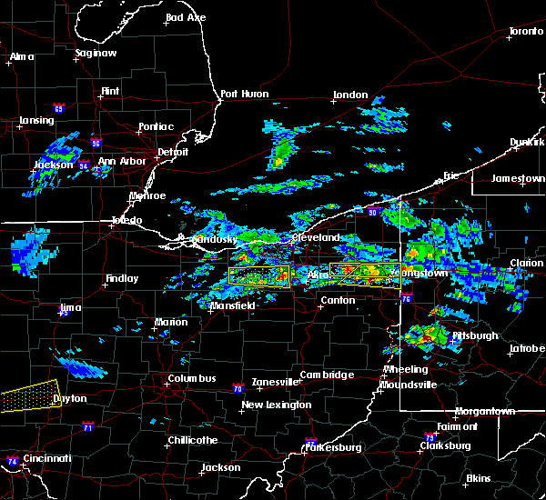 Radar Image for Severe Thunderstorms near South Canal, OH at 3/28/2020 1:20 PM EDT