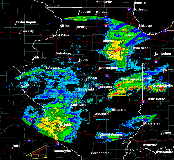 Radar Image for Severe Thunderstorms near Arthur, IL at 3/28/2020 12:40 PM CDT