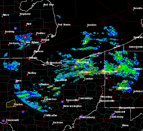 Radar Image for Severe Thunderstorms near South Canal, OH at 3/28/2020 1:39 PM EDT