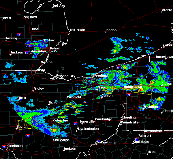 Radar Image for Severe Thunderstorms near South Canal, OH at 3/28/2020 1:58 PM EDT