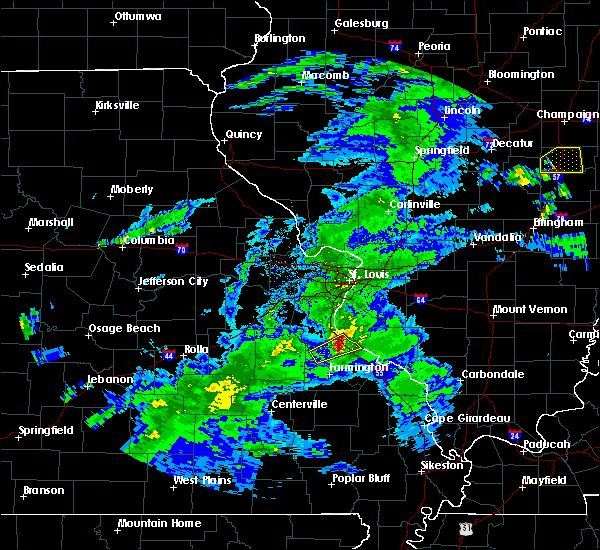 Radar Image for Severe Thunderstorms near Bloomsdale, MO at 3/28/2020 12:59 PM CDT