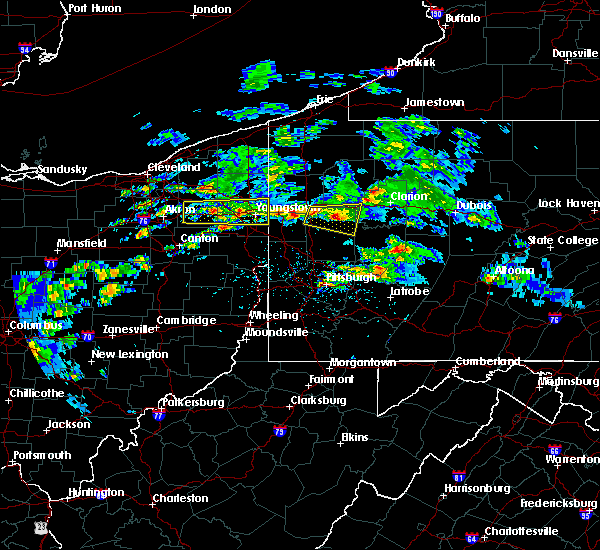 Radar Image for Severe Thunderstorms near Fairview, PA at 3/28/2020 2:07 PM EDT
