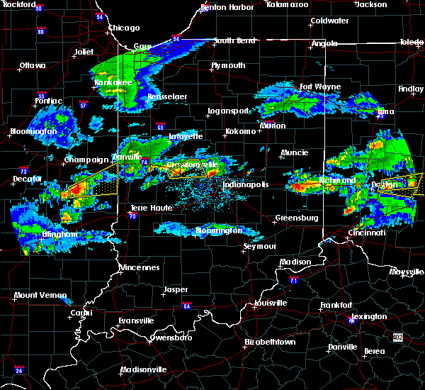 Radar Image for Severe Thunderstorms near New Ross, IN at 3/28/2020 2:19 PM EDT