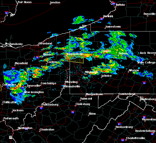 Radar Image for Severe Thunderstorms near New Middletown, OH at 3/28/2020 2:29 PM EDT