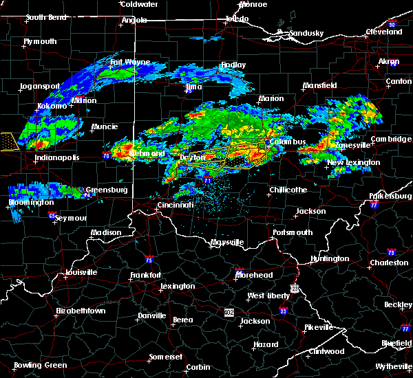 Radar Image for Severe Thunderstorms near Lafayette, OH at 3/28/2020 2:35 PM EDT