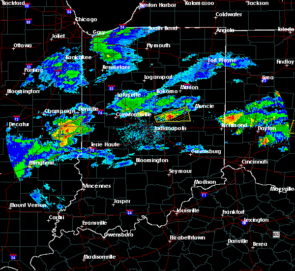 Radar Image for Severe Thunderstorms near River Forest, IN at 3/28/2020 2:49 PM EDT