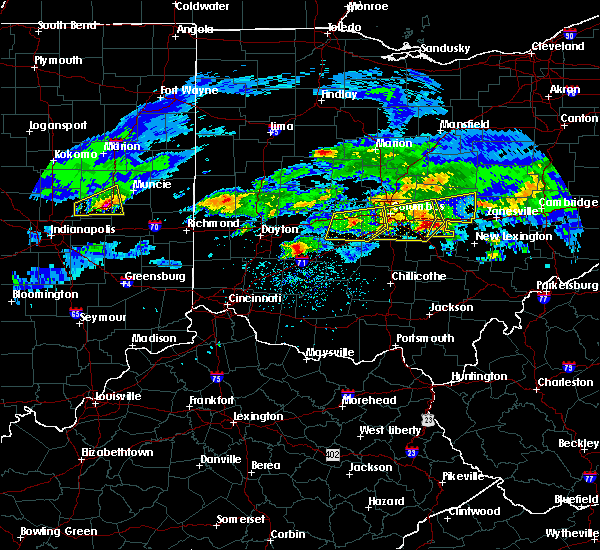 Radar Image for Severe Thunderstorms near Pleasantville, OH at 3/28/2020 3:00 PM EDT