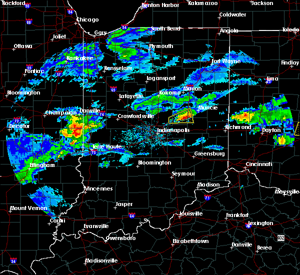 Radar Image for Severe Thunderstorms near Modoc, IN at 3/28/2020 3:00 PM EDT