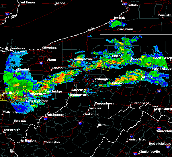 Radar Image for Severe Thunderstorms near East Brady, PA at 3/28/2020 3:06 PM EDT