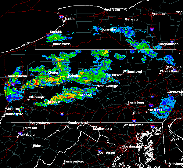 Radar Image for Severe Thunderstorms near Brookville, PA at 3/28/2020 3:09 PM EDT