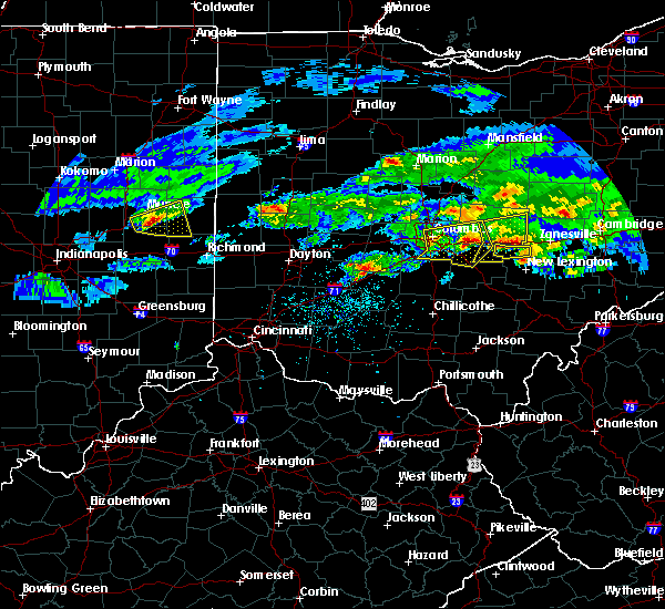 Radar Image for Severe Thunderstorms near Pickerington, OH at 3/28/2020 3:22 PM EDT