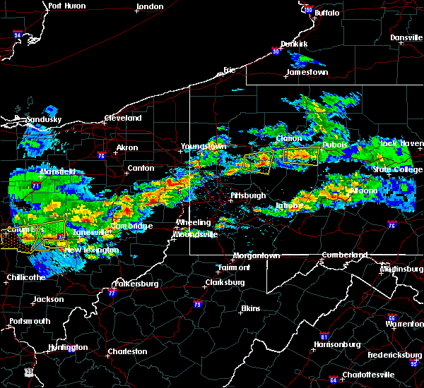 Radar Image for Severe Thunderstorms near East Brady, PA at 3/28/2020 3:22 PM EDT